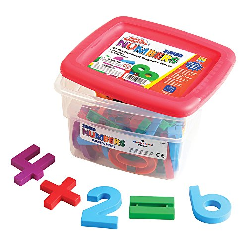 Educational Insights Jumbo Mathmagnets (Set of 42)