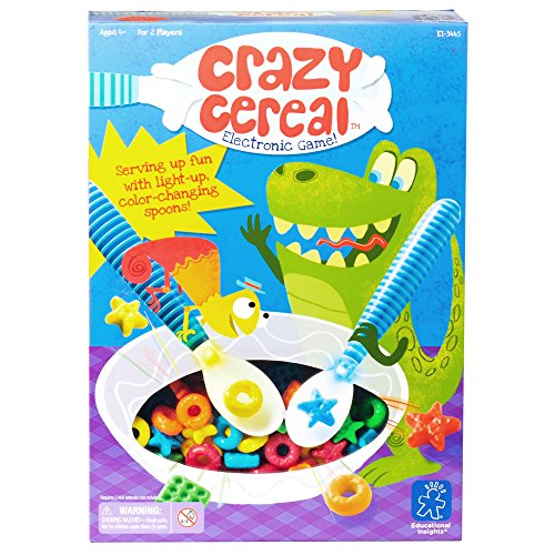 EDUCATIONAL INSIGHTS CRAZY CEREAL ELECTRONIC GAME