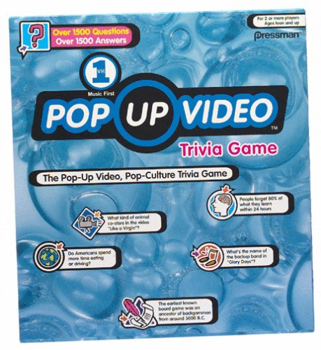 Pop up Video Trivia Board Game