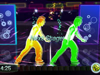 Leveling up in Zumba Fitness for Wii