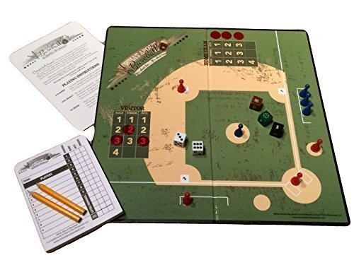 What About Baseball - A Realistic Baseball Board Game That Gives You the Feel of Real Baseball. Recommended for Ages 8 Years and Older.