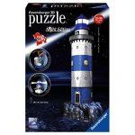 Ravensburger Lighthouse – Night Edition – 3D Puzzle (216-Piece)