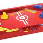 Two Player Desktop 2 in 1 Soccer and Knock Hockey Table Top Game – Classic Arcade Games Tabletop Soccer Ball Ice Hockey Shooting Fun Toys For Kids Boys Girls Adults Sports Fans by Perfect Life Ideas