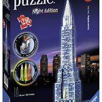 Ravensburger Chrysler Building Night Edition 3D Puzzle (216 Piece)