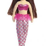 Aurora World Sea Sparkles Mermaid Plush, Ruby