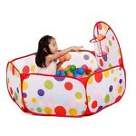 Education Toy,Baomabao Pop up Hexagon Polka Dot Children Ball Play Pool Tent Carry Tote Toy+50 Balls