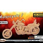 YinheMed DIY 3D Wooden Puzzle - Harley Davidson Motorcycles Cedarwood - Handmade Jigsaw Woodcraft Kit Wooden Handcraft Educational Products Wooden Art Intarsia