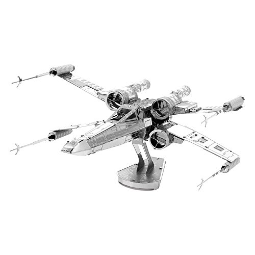 3D Metal Model Star Wars X-Wing Starfighter, Do It Yourself Puzzle