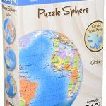 3D Puzzle Sphere – Globe