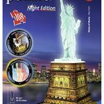 Statue of Liberty - Night Edition, 216 Piece 3D Jigsaw Puzzle (Ravensburger)