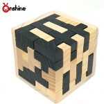 Onshine 3d Wooden Jigsaw Puzzle Games for Adults 54 Pcs T-shapedEducational Toys for Kids