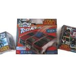 Star Wars Cosmic Game Bundle - 1 x 1000pc Comic Collage Puzzle, Star Wars Tabletop Toss Across Game and Star Wars Trivia Box Game - (3 Items)