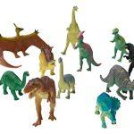Fun Central Jumbo Dinosaur Toys, Assorted Styles, 12 Count