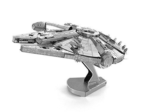 Metal Earth ICONX Star Wars Millennium Falcon Premium Series 3D Metal Model Kit