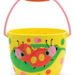 Melissa & Doug Sunny Patch Mollie and Bollie Ladybug Pail – Outdoor Toy for Kids