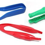 3 CHUNKY Safety Plastic Tongs/Tweezers for Children - Fine Motor Tools, Occupational Therapy, Special Needs, Sensory Bin, Preschool Tools