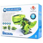 4-in-1 Solar Powered Robot DIY Kit Dragon Shaped Kids Educational 3D Puzzle Toys for Kids For 8 and Up