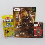 Star Wars Jumbo Coloring and Activity Book with Studion Art Twist Crayons and Chewbacca 3D Puzzle Eraser