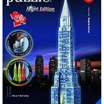 Ravensburger 12595 Chrysler Building – Night Edition Puzzle by Ravensburger