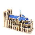Wooden 3D Puzzle Notre Dame de Paris