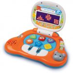 VTech Baby's Light-Up Laptop, Orange