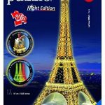Ravensburger Eiffel Tower – Night Edition – 3D Puzzle (216-Piece) by Ravensburger