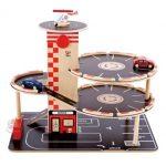Hape Park ad Go Kid's Wooden Toy Car Garage Play Set