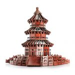 Red Wood 3D Puzzle Temple of Heaven Exquisite Gift & Home Decor