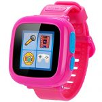 GBD Game Smart Watch for Kids Children with Camera Touch Screen Pedometer Timer Sport Activity Tracker Alarm Clock Games Toy for Boys Girls Smartwatch Wriswatch Wristband Health Monitor (Pink)