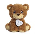 Aurora World Precious Moments So Beary Sweet Charlie Bear Plush, 8.5″, Brown