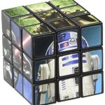 """Amscan Legendary Star Wars Classic Mini Puzzle Cube Birthday Party Favor, 1 1/8"""", Multicolor"""