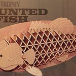 3D Mounted Trophy Fish 52 piece Wooden Puzzle