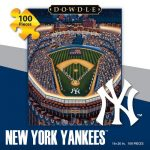 Jigsaw Puzzle - New York Yankees 100 Pc By Dowdle Folk Art