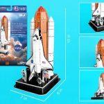 Space Shuttle 3D Puzzle (87 Pieces)