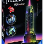 Ravensburger Empire State Building – Night Edition – 3D Puzzle (216-Piece) by Ravensburger