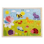 Jigsaw Puzzle, FINER 60-Piece Insects Wooden Jigsaw Puzzle Baby Kids Children Educational Toy by FINER SHOP