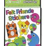 Melissa & Doug On the Go Felt Friends Craft Activity Set With 188 Felt Stickers