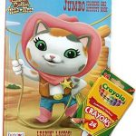 Sheriff Callie's Wild West ''Leapin' Lassos!'' Jumbo Coloring and Activity Book with Crayola Crayons