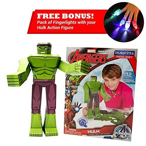 hulk toys blueprints avengers initiative hulk action figure 12in