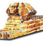 Sphinx, 69 Piece Mini 3D Jigsaw Puzzle Made by Wrebbit Puzz-3D