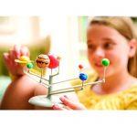 GLJ Solar System Planetarium DIY 3D Model Learning Science Kit Toy Educational Astronomy Model