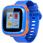 GBD Game Smart Watch for Kids Children with Camera Touch Screen Pedometer Timer Alarm Clock Toy Smartwatch Wriswatch Wristband Health Monitor (Mix Dark Blue)