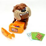 2016 Latest Funny Parent Child Games Beware Of The Dog Don't Wake The Dog Toys, Funny Electronic Pet Dog Toys Bad Dog Gnaw Bones(ABS) by US Buy