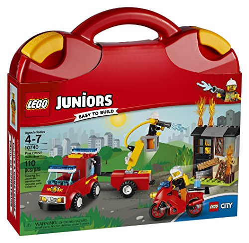 LEGO Juniors Fire Patrol Suitcase 10740 Building Kit
