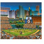 Dowdle Folk Art Puzzles - Baltimore Orioles Puzzle, 500 Pieces