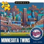 Jigsaw Puzzle - Minnesota Twins 500 Pc By Dowdle Folk Art