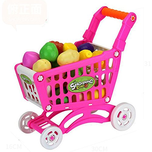 Baby Shopping Carts , Misaky Fruit Vegetable Pretend Play Children Kid Educational Toy