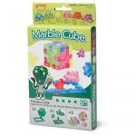 Happy, Marble Cube, Set of 6 Foam Puzzle Cubes, Ages 9 to 99