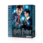 WREBBIT 3D Harry Potter Poster Puzzle (500 Pieces)