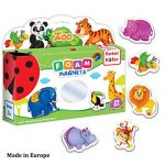 Roter Kafer Refrigerator Magnets for kids ZOO Animals (29 pcs) - Fridge Magnets for Toddlers activity - Kids magnets - Toddler magnets